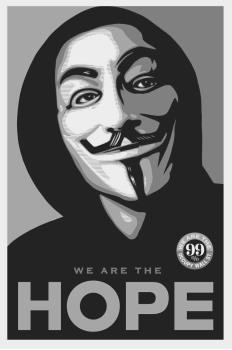 4. Shepard Fairey Occupy Hope